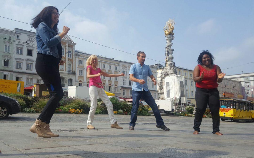 Freedance am Linzer Hauptplatz